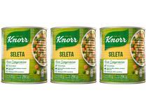 Kit Seleta de Legumes em Conserva Knorr - 170g 3 Unidades