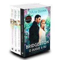 Kit Série Os Bridgertons - Livros I, II, III e IV - Arqueiro