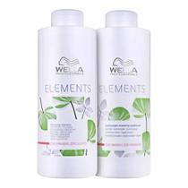Kit Shampoo 1l + Cond 1l Wella Elements -
