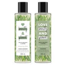 Kit Shampoo 300ml + Condicionador Love Beauty & Planet Energizing Detox 300ml -