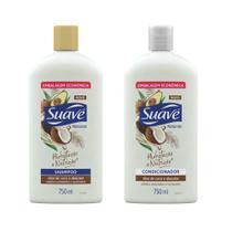 Kit Shampoo + Cond Suave Jasmim e Oleo Essencial 750ml -