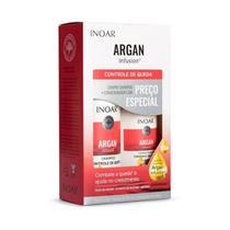 Kit Shampoo Condicionador Argan Infusion Queda - Inoar -
