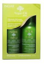 Kit Shampoo + Condicionador Argan Oil System 250ml  Inoar -