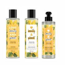 Kit Shampoo Condicionador e Creme de Pentear Love Beauty and Planet Hope & Repair -