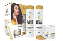 Kit Shampoo Condicionador e Mascara Beauty Força Phallebeauty -