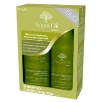 Kit Shampoo + Condicionador Inoar Duo Argan Oil System -