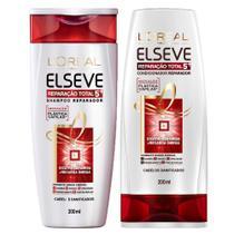 Kit Shampoo + Condicionador L'Oréal Paris Elseve Reparação Total 5+ -
