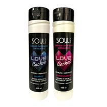 Kit Shampoo + Condicionador Love Cachos Soul Black -