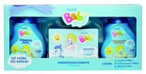 Kit Shampoo+ Condicionador+Sabonete Baby Menino- Nova Muriel -