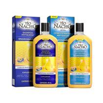 Kit Shampoo E Condicionador Antiqueda Engrossador Tío Nacho -