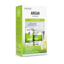 Kit Shampoo E Condicionador Argan Infusion Liso - Inoar -