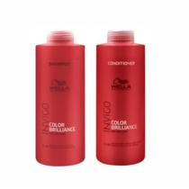 Kit Shampoo e Condicionador Collor Brilliance Invigo - Wella