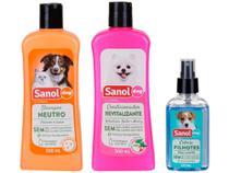 Kit Shampoo e Condicionador Colônia - Cachorro e Gato Neutro Sanol Dog -