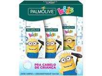 Kit Shampoo e Condicionador Infantil Palmolive - Kids Minions 350ml 2 Shampoos e 1 Condicionador