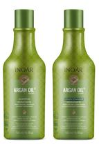 Kit Shampoo e Condicionador Inoar Argan Oil System 500ml -