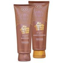 Kit Shampoo e Condicionador Óleo de Argan Hidrata E Repara Qod City -