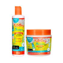 Kit Shampoo e Máscara Legal é Hidratar Kids TodeCachinho - Salon Line