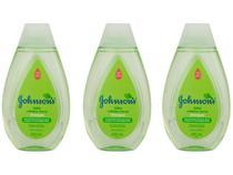 Kit Shampoo Infantil Johnsons Baby Cabelos Claros - 400ml 3 Unidades