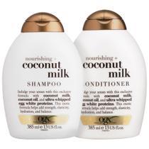 Kit Shampoo OGX Coconut Milk 385ml + Condicionador OGX Coconut Milk 385ml -