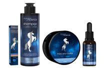 Kit shampoo purificante e mascara e serum e ampola - Magic Science