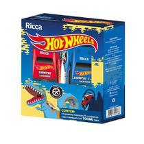 Kit Shampoo Ricca Shampoo 3 em1 Hot Wheels Turbinado 300ml -