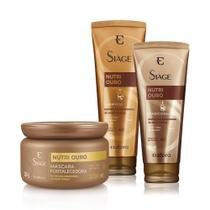 Kit Siàge Nutri Ouro Shampoo + Condicionador + Máscara - Eudora