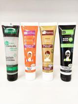 Kit Skin care completo Mascaras Facial com 4 unidades Ouro, Vitamina C, Black e Carvão Ativado - Zap Nativis Cosmeticos