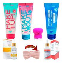 Kit Skin Care Cuidados Facial E Limpeza Da Pele Skincare - Dermachem