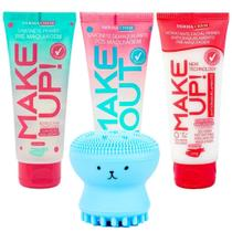 Kit Skin care Dermachem Sabonete Hidratante + Esponja facial -
