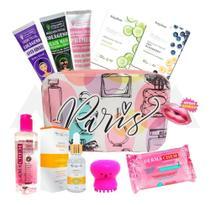 Kit Skin Care Limpeza De Pele E Cuidados Facial + Necessaire - Dermachem