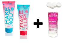 Kit  Skin Care - Sabonetes Faciais Dermachem + Discos de Algodão -