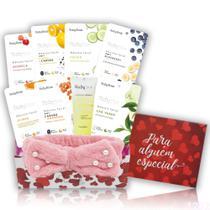 Kit Skincare Cuidados com Pele Spa em Casa 7 Dias Ruby Rose - Glow Pink