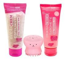 Kit Skincare Limpeza De Pele Rosa Mosqueta Esponja Completo - Ruby Rose