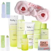 Kit Skincare Ruby Rose Proteção Urbana + Lip Balm Esfoliante -