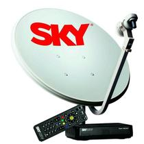 Kit Sky Conforto HD, Antena de 60 cm + Receptor Digital -