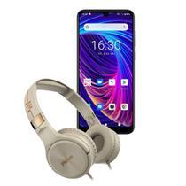 Kit Smartphone PCS02SG 128GB Hit Max + Fone Philco PFO02G -