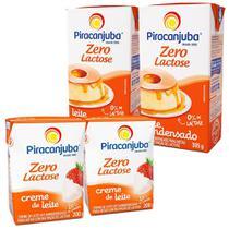 Kit Sobremesa Piracanjuba Zero Lactose -