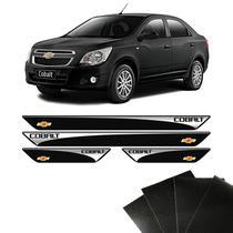 Kit Soleira Chevrolet Cobalt 2012/2019 Com Protetor de Porta - Sportinox