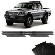 Kit Soleira Diamante L200 Outdoor Com Protetor De Porta - Sportinox