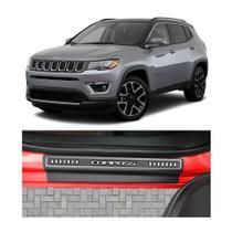 Kit Soleira Jeep Compass 4 Portas Carbono - NP