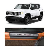 Kit Soleira Jeep Renegade 4 Portas Carbono - NP
