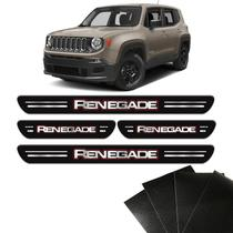 Kit Soleiras Da Porta Jeep Renegade 2015 8 Peças Protetoras - Sportinox