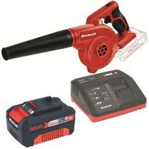 Kit Soprador de Ar a Bateria 18V Einhell Te-Cb 18/180 Li com Bateria 18V 4.0 Ah e Carregador Bivolt -