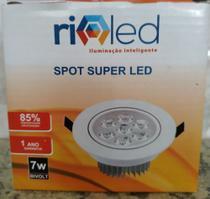 Kit spot super led com 5 led - Rioled