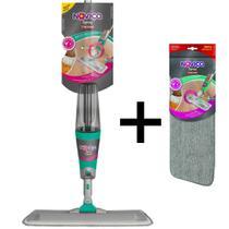Kit Spray Mop Rodo Automático Noviça Bettanin + Refil Extra -
