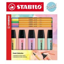 Kit Stabilo Pastel Collection 5 Boss + 5 Point 88 -