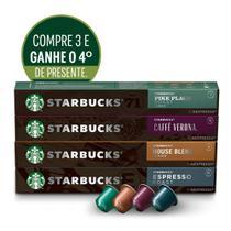 Kit Starbucks by Nespresso-3cx +1cx presente -
