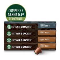 Kit Starbucks House Blend by Nespresso-3cx +1cx presente -