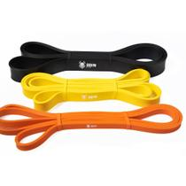 Kit Super Power Band Elásticos 3 Intensidades - Odin Fit -