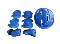 Kit Super Proteção Radical com Capacete Azul - Belfix